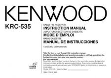 Buy Kenwood B64-2154-00 Operating Guide by download Mauritron #220878