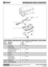 Buy Lima No.00028 Rheingold Solo Coaches Service Sheets by download Mauritron #2061