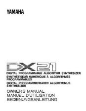 Buy Yamaha DX21E1 Operating Guide by download Mauritron #247715