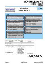 Buy Sony DCR-TRV345E_TRV350_TRV351_TRV355E_TRV356E lev3 Service Manual by download