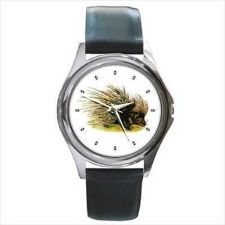 Buy Porcupine Art Unisex Round Wrist Watch New