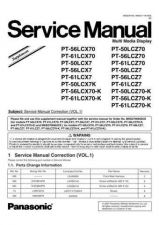 Buy Panasonic mtnc020412a1 Service Manual by download Mauritron #267997