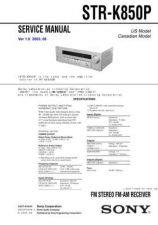 Buy Sony STR-W550 Service Manual. by download Mauritron #245175