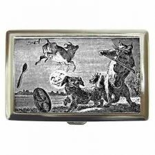Buy Cat and The Fiddle Cow Jumped Over The Moon Cigarette Money Credit Card Case
