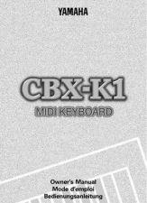 Buy Yamaha CBXK1E Operating Guide by download Mauritron #246941
