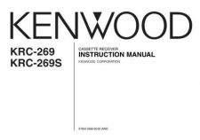Buy Kenwood KRC-269S Operating Guide by download Mauritron #222542