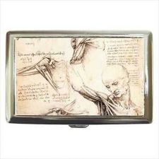 Buy Anatomy Study Leonardo Da Vinci Cigarette Money Card Case