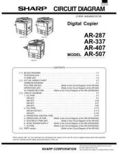 Buy Sharp AR507Part 2 Service Manual by download Mauritron #231000
