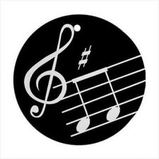 Buy Music Notes Treble Clef Art Ceramic Ornament