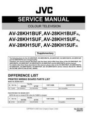Buy JVC AV-27F802 Service Manual Schematic Circuit. by download Mauritron #269704