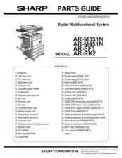 Buy Sharp AR-P350 Parts Guide by download Mauritron #232728