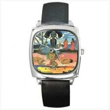 Buy Day Of The Gods Paul Gauguin Famous Art Square Wrist Watch