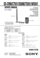 Buy Sony SS-TS300 Service Manual. by download Mauritron #244923