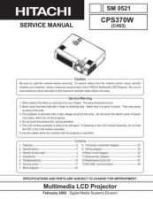 Buy Sony CP-X265WF Service Manual by download Mauritron #231786