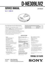 Buy Sony DCR-DVD92DVD92EDVD103DVD602[2] Service Manual by download Mauritron #23954