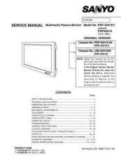Buy Fisher. Service Manual For PDP-42H1EV by download Mauritron #217397