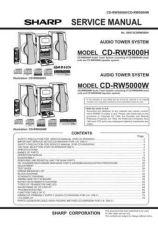 Buy Sharp CDRW5000H-W (1) Service Manual by download Mauritron #208661