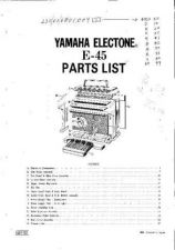 Buy Yamaha E30 SM5 E Manual by download Mauritron #256414