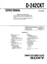 Buy Sony D-135 Manual-1663 by download Mauritron #228480