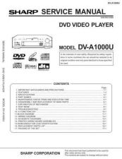 Buy Sharp DVA1000U Service Manual by download Mauritron #208774