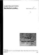 Buy TEKTRONIX 7000 SERIES DEFT 7704_IN_PART1 by download #109623