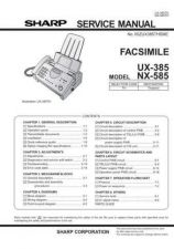 Buy Sharp UX-510A Part 2 Service Manual by download Mauritron #231499