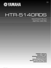 Buy Yamaha HTR-5140RDS M Operating Guide by download Mauritron #248128