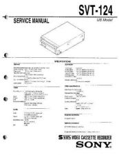 Buy Sony SVT-3000 Service Manual. by download Mauritron #245213
