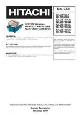 Buy Hitachi 32LD8600 Service Manual by download Mauritron #262532