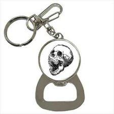 Buy Screaming Skull Art Keychain Bottle Opener