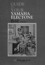Buy Yamaha B6EE 1 Operating Guide by download Mauritron #246845