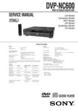Buy Sony DVP-NC555ES Service Manual by download Mauritron #240493