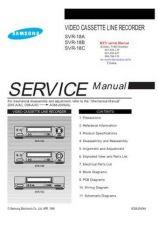 Buy SAMSUNG SVR18A SVR18B SVR by download #106869