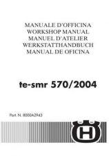 Buy Husqvarna TE SMR 570 '04 Bike Motorcycle Service Manual (EngFreGerItaSpa) by
