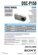 Buy Sony DSC-P3. (3) Service Manual by download Mauritron #240226
