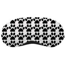 Buy Paw Print Eye Mask Air Travel Accessory Polyester New