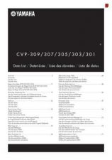 Buy Yamaha CVP309E2 Operating Guide by download Mauritron #247285