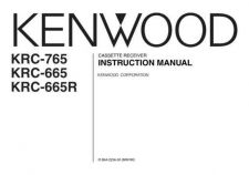 Buy Kenwood KRC-765 Operating Guide by download Mauritron #219395