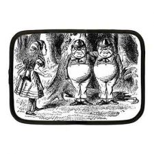 Buy Alice In Wonderland Tweedle Dee Dum Neoprene 10 Inch Netbook Case