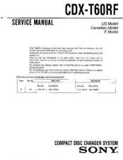 Buy Sony CDX-T67 Technical Information by download Mauritron #235492