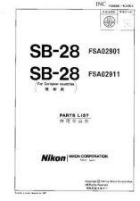 Buy NIKON SB-28 Repair Manual by download Mauritron #266212