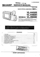 Buy Sharp VLH550H-006 Service Manual by download Mauritron #210901