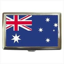 Buy Australia Flag Cigarette Money Credit Business Card Case
