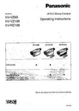 Buy Panasonic NVRZ10 VZ10 Operating Instruction Book by download Mauritron #236277