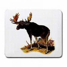 Buy Bull Moose Art Computer Mouse Pad
