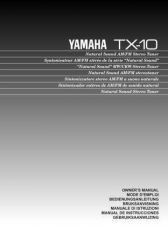 Buy Yamaha TX-10RDS Operating Guide by download Mauritron #250110
