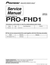 Buy Pioneer PRO-507PU Service Manual by download Mauritron #235200