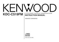 Buy Kenwood KDC-C519FM by download Mauritron #221898