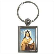 Buy St Teresa Of Avila Patron Saint Of The Sick Key Ring