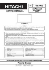 Buy Hitachi 55PMA-5500(55HDM-71) Service Manual by download Mauritron #263112
